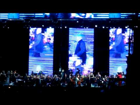Peter Gabriel & The New Blood Orchestra - Solsbury Hill - SWU - 13/11/2011