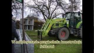 Budowa szklarni/Bouw van Venlo kassen