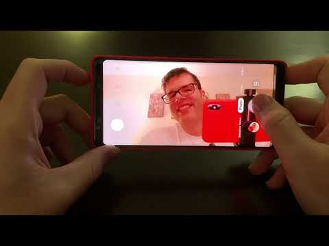 Samsung Galaxy Note 8 - Front Facing Camera (Review)