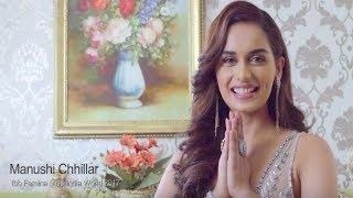 Manushi Chhillar's Official AV Shoot for Miss World 2017