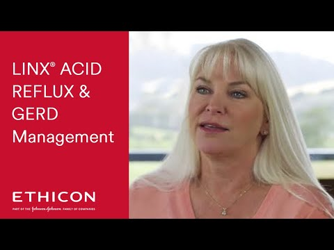 LINX Acid Reflux Management - Tricia's GERD Testimonial | Ethicon