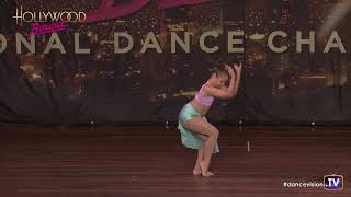 Kiara Drzewinski - First Lyrical Solo age 8