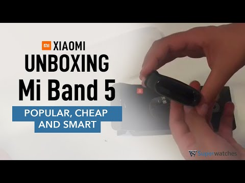 Mi Band 5 - First Looks