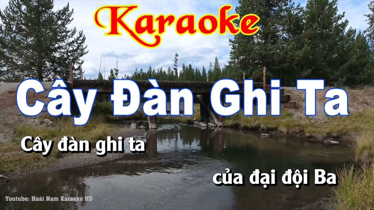 Karaoke Nhạc Sống Cây Đàn Ghi Ta