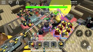 Roblox tower defense simulator trying to get cowboy!