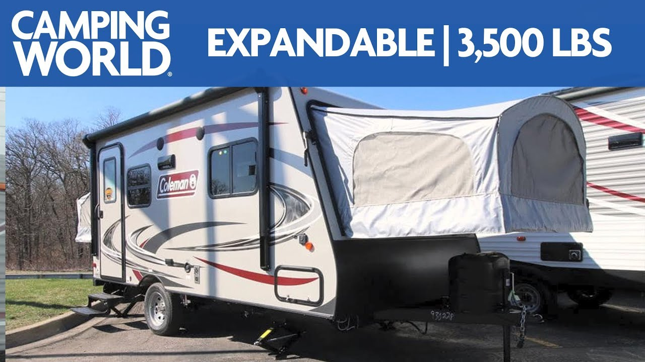 2019 Coleman Light 1601exp Travel Trailer Rv Review Camping World