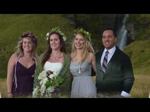 Travis and Katelyn Lay Wedding in Iceland 2016