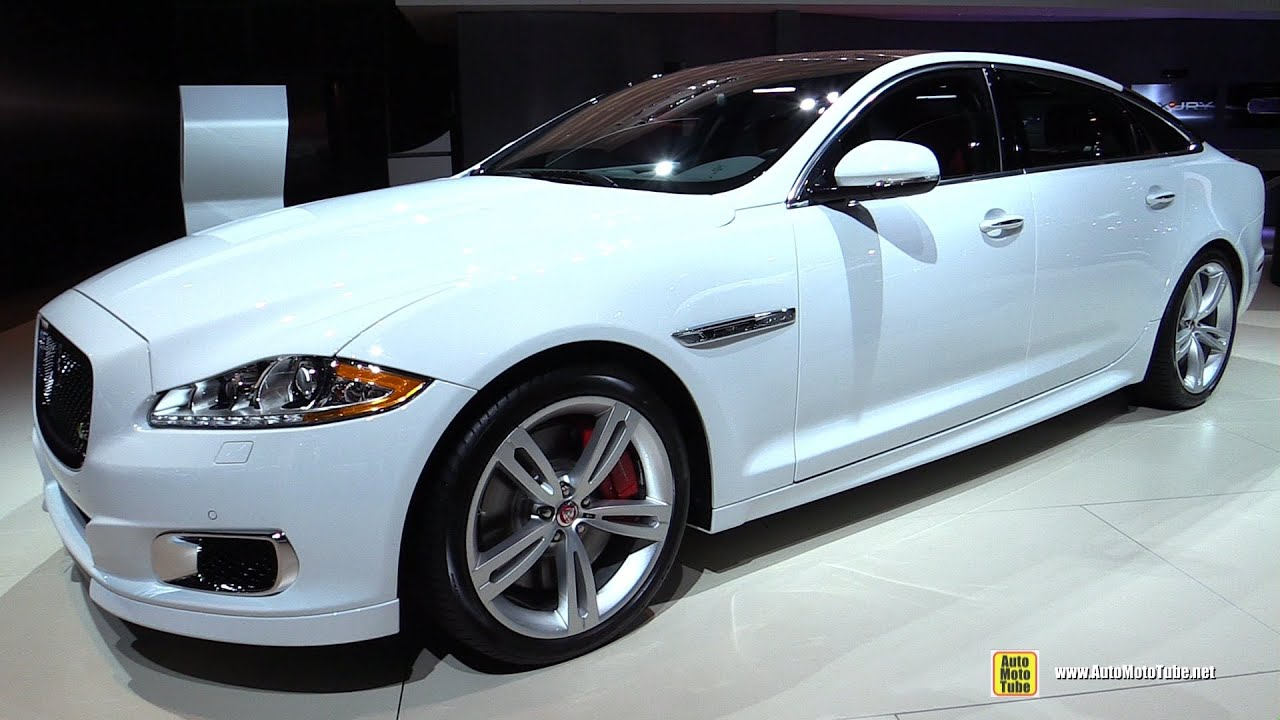 2015 Jaguar XJ L R   Exterior And Interior Walkaround   2014 LA Auto Show    YouTube