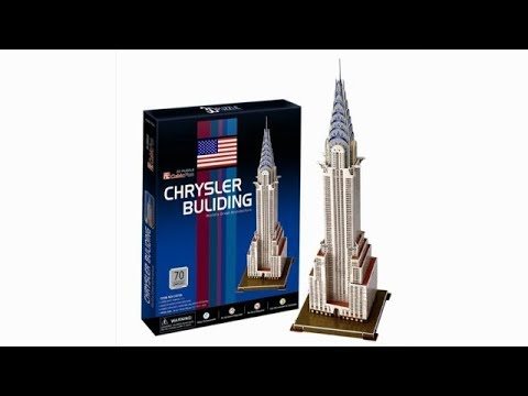 """Chrysler Building"" - Puzzle 3D"