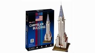 """""""Chrysler Building"""" - Puzzle 3D"""