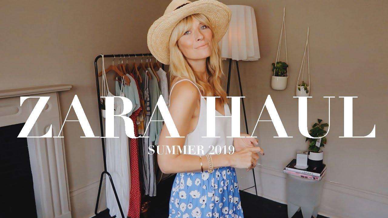 ZARA TRY ON HAUL   SUMMER 2019 1