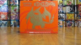 Pokemon Evolutions Elite Trainer Box Opening