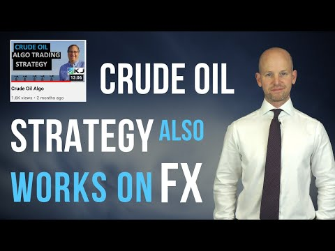 Hacking Kevin Davey's Oil Strategy to Beat the Forex Markets