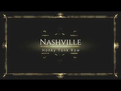 2018 Nashville TN, Honky Tonk Row