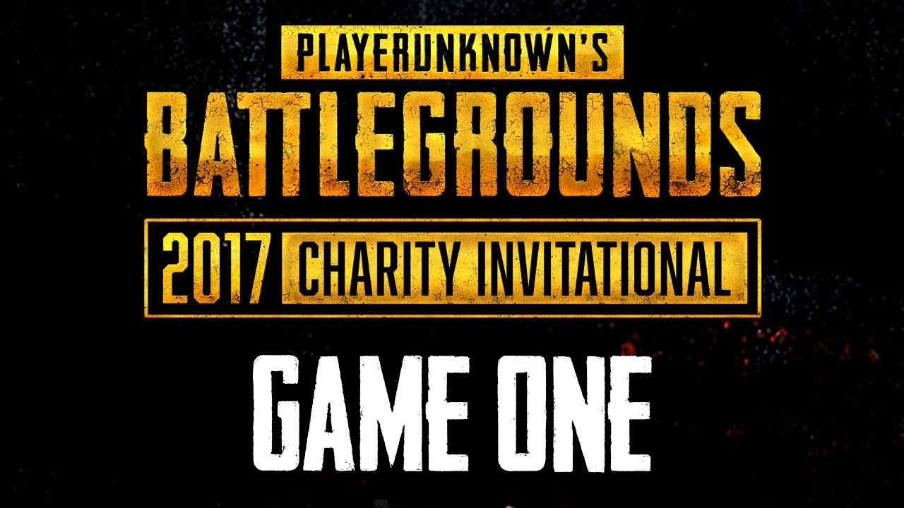 Watch Playerunknown's Battlegrounds 2017 Charity Invitational right here