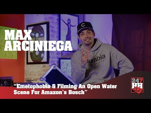 Max Arciniega   Emetophobia & Filming An Open Water  For Amazon's Bosch 247HH Exclusive