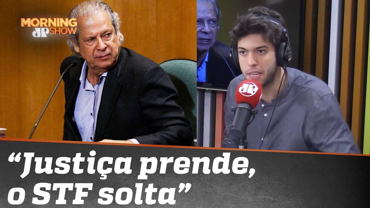 José Dirceu, Caio Coppolla e a Justiça brasileira