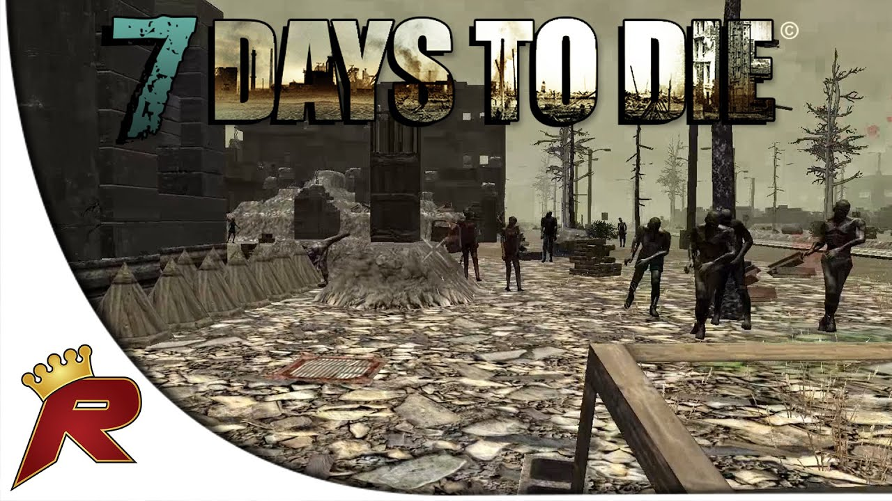 7 days to die multiplayer part 26 secure the bottom for Wood floor 7 days to die