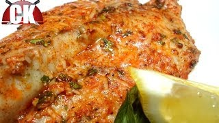 Easy Baked Fish - Chef Kendra's Easy Cooking!
