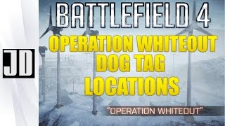 Battlefield 4 Operation Whiteout Dog tag Location for Phantom Bow 360/PS3