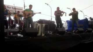 The powerful Celtic group Synthian performs at the Dayton Celtic Festival 2013 at RiverScape.
