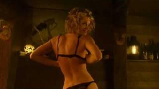 Rebecca Romijn- Bar Dance