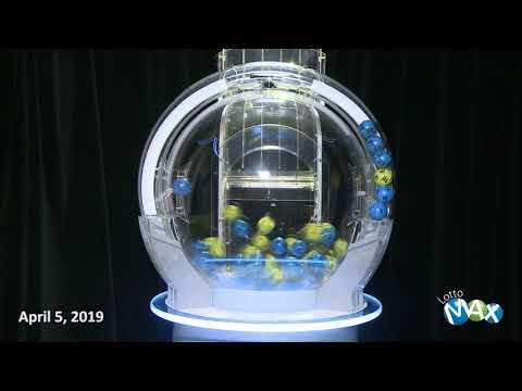 Lotto Max Draw, - April 5, 2019