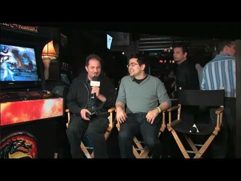 GameSpot Now Playing - Mortal Kombat with Ed Boon, Hector Sanchez, and more! (PS3, Xbox 360)