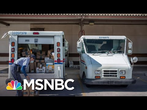 Postal Workers Union Head Confirms Slowdown Of Postal Service | All In | MSNBC