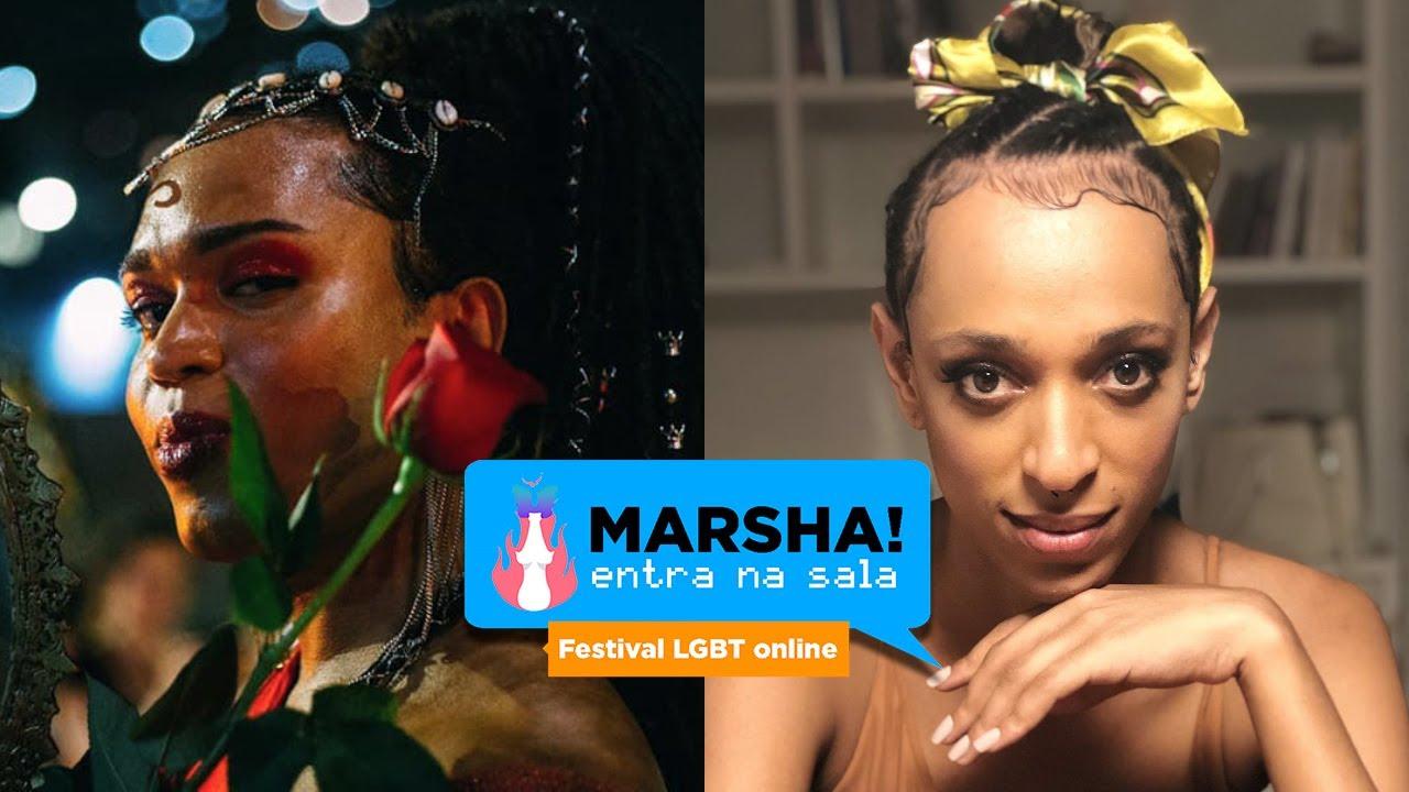 Talks Festival MARSHA! Entra na sala disponíveis