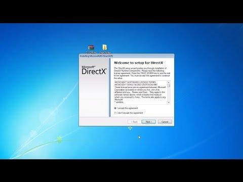 directx online installer