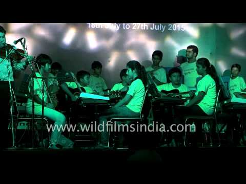 Instrumental orchestra based on Ramayana stories by Delhi music students