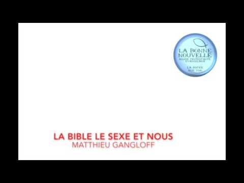 LA BIBLE LE SEXE ET NOUS