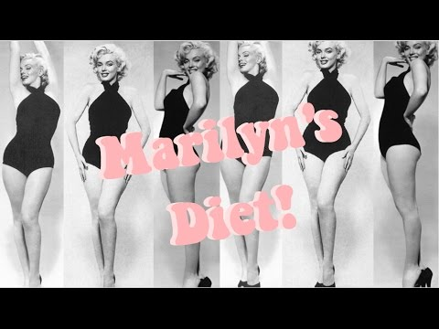 How To Get Marilyn Monroe's Figure! Marilyn Monroe's Diet and Exercise Plan