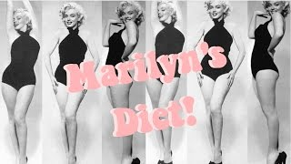 How To Get Marilyn Monroe's Figure! Marilyn Monroe's Diet and Exercise Plan Mp3
