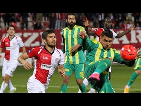 Samsunspor 2-1 Şanlıurfaspor Tff 1.Lig 10.Hafta