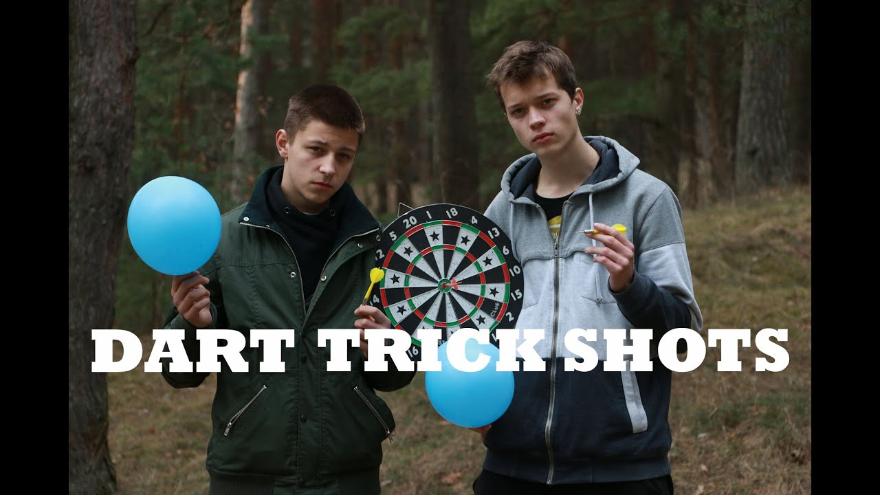DudePerfect Latvia - DART Trick Shots