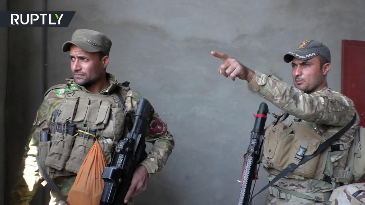 RAW: Iraqi army advances towards Mosul