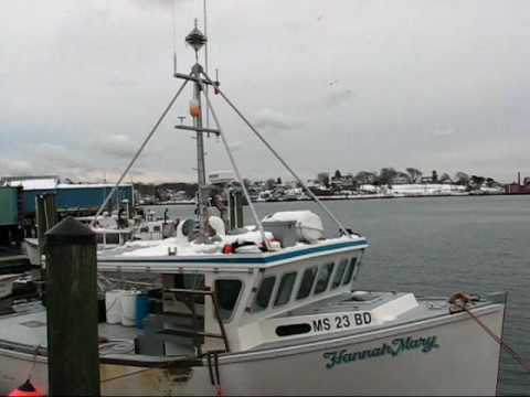 Gloucester Fishing Boats on the Move