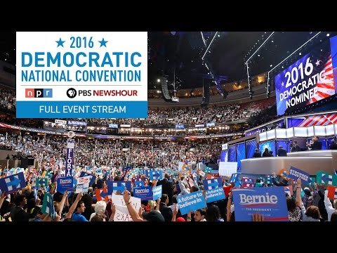 Watch the Full 2016 Democratic National Convention - Day 2