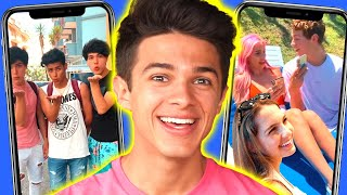 RANKING the BEST Brent Rivera Tik Toks w/ the crew from Dream Vacation