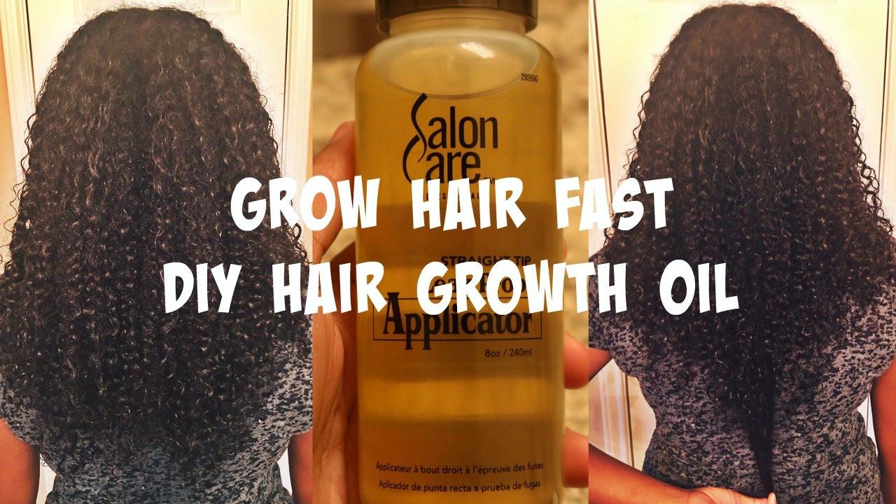 Grow Hair Fast Diy Growth Oil Low Porosity Friendly
