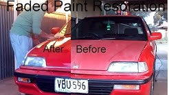 DIY Car Paint Restoration