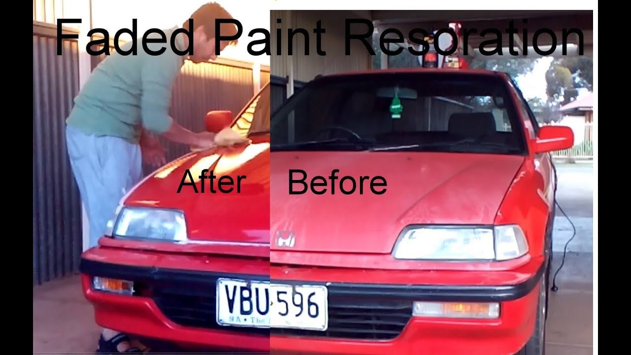 Restore Paint To How Job A