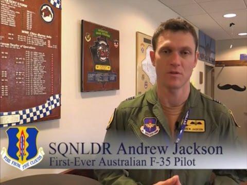 F-35A 1st RAAF Pilot Flight Sense Humor 17 Mar 2015