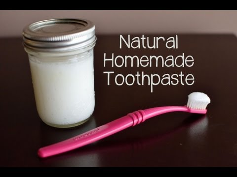 How to Make Your Own Toothpaste