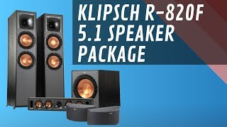 Klipsch R 820F 5.1 Home Theater Speaker Package - Quick Look India