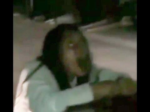 Una mujer poseída por demonios causa el pánico en México