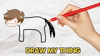 DRAW MY THING! (Drawing game)