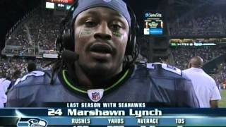 Repeat youtube video Marshawn Lynch...Hello???